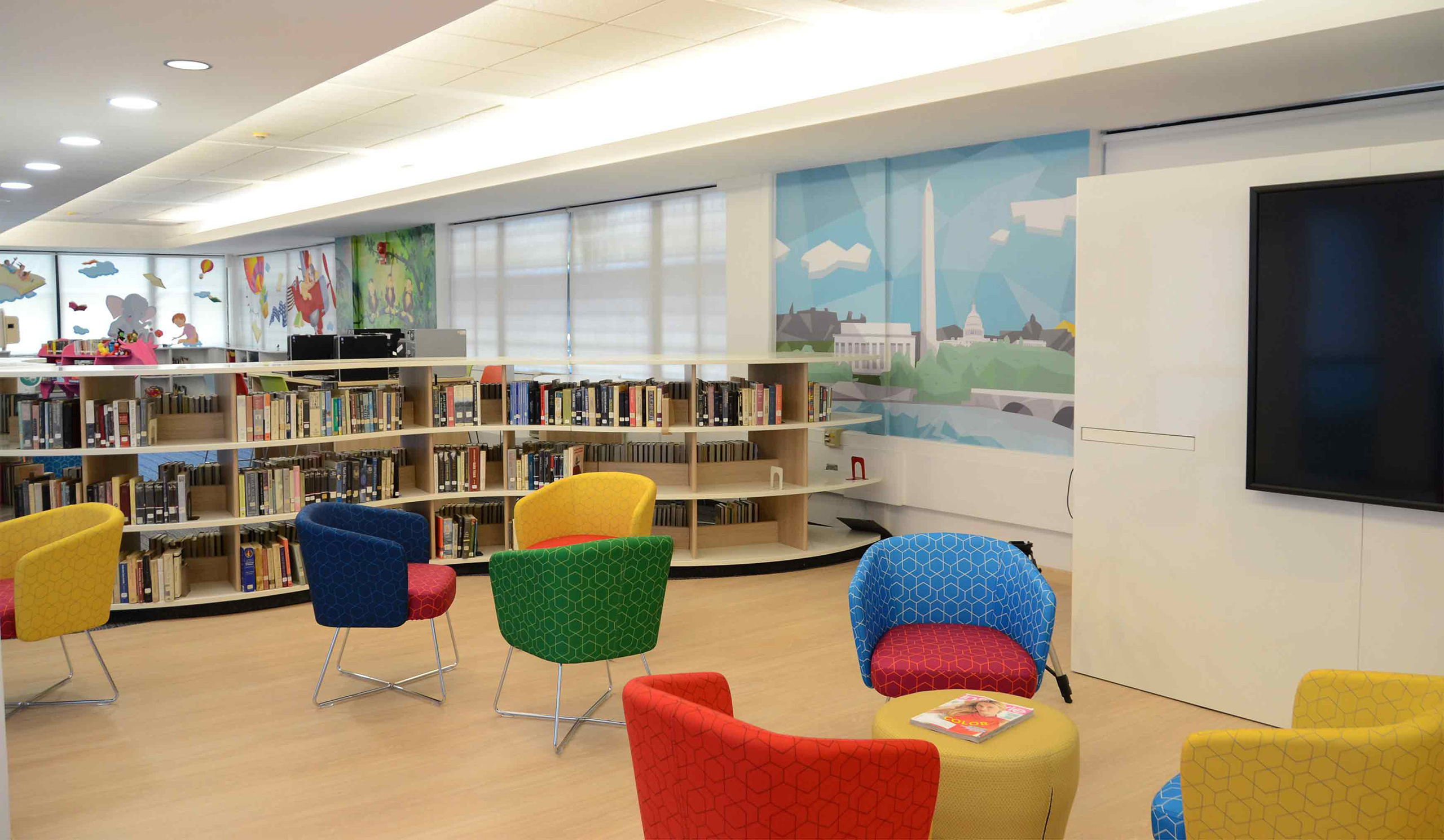 US Consulate Library